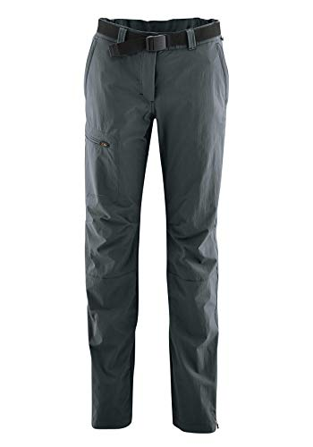 Maier Sports Damen Hose Inara Slim, Graphite, 72 von Maier Sports
