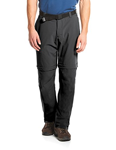 Maier Sports Herren Outdoor Hose T-zipp Tajo, Black, 56 von Maier Sports