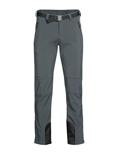 Maier Sports Herren Tech Pants M Outdoorhose, Graphite, 50 von Maier Sports