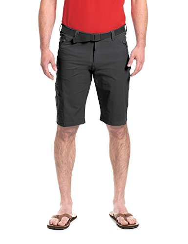 Maier Sports Herren Nil Bermuda Shorts, Black, 48 von Maier Sports