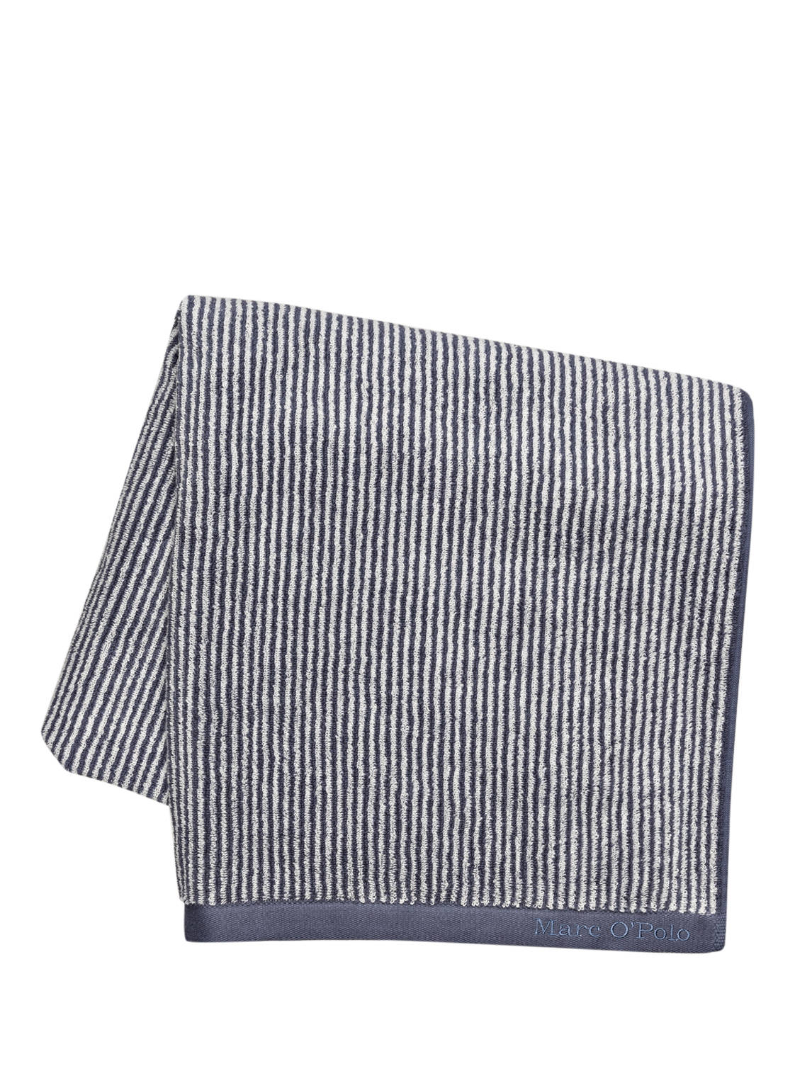 Marc O'polo Badetuch Timeless Stripe blau von Marc O'Polo