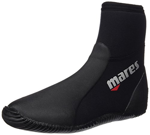 Mares Unisex Dive Boots Classic NG 5 mm, black/grey, 36/37 (US 5), 41261905050 von Mares