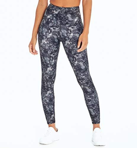 Marika Damen Cordelia Ultra High Rise Leggings, Damen, knöchellange Leggings, Cordelia Ultra High Rise Legging, Wasserfarben-Schlange Turbulenz, Large von Marika