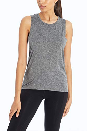 Marika Damen Charlize Tank Top, Herren, Top, Charlize Tank Top, Heather Black, X-Large von Marika