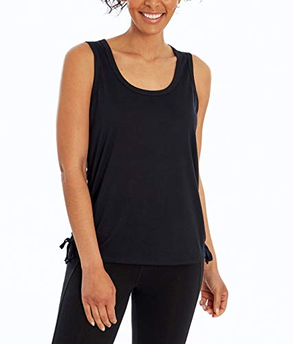 Marika Damen Margot Side Tie Tank Top, Damen, Top, Margot Side Tie Tank Top, schwarz, X-Large von Marika