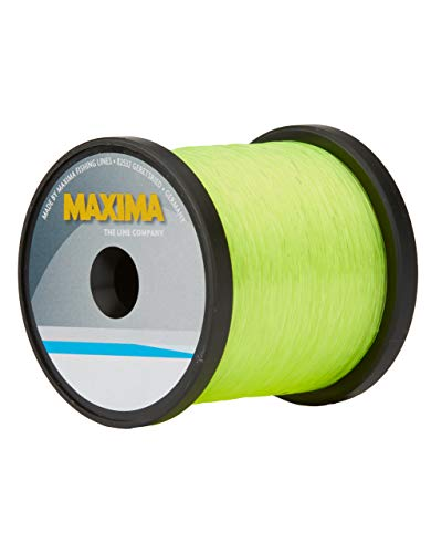 Maxima Fishing Line Guide Spools, High Visibility Yellow, 25-Pound/600-Yard von Maxima Fishing Line