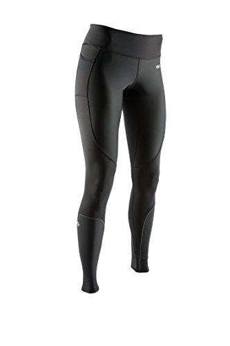 McDavid 8817 Damen Recovery Max ™ Tight Base Layer Kompressions Hose Leggings für Laufen und Workouts, Damen, MD8817, schwarz, X-Small von McDavid