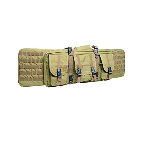 Mil-Tec Large Rifle Case Tactical Padded Gun Bag MOLLE Airsoft Shooting Hunting Coyote von Mil-Tec