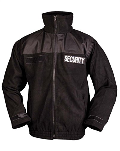 Mil-Tec Security Fleece Jacket Size:S von Mil-Tec