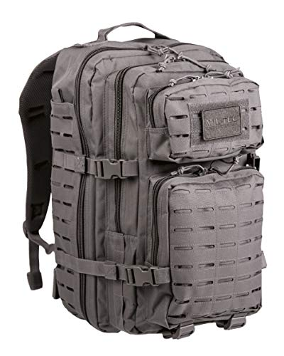 Mil-Tec Rucksack US Assault Pack Laser Cut, L, urban grey von Mil-Tec