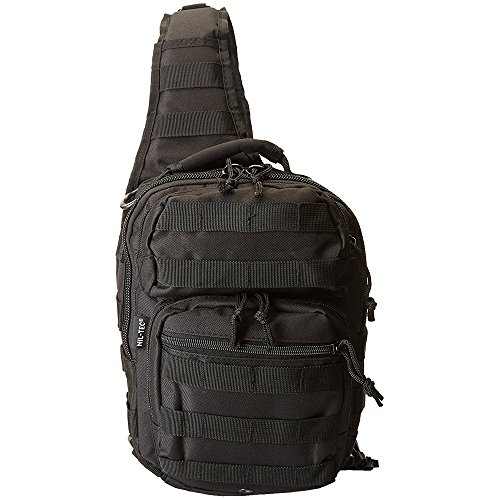 Mil-Tec US Assault Pack One Strap small Schwarz von Mil-Tec