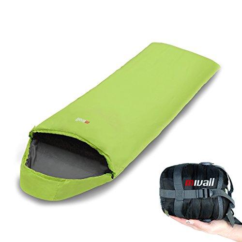 Mivall Anti Milben Inlett Decke 225 x 80 cm f/ür Allergiker geeignet Minischlafsack