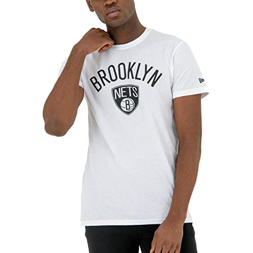 New Era Herren T-Shirt Brooklyn Nets, bunt, M, 11530756 von New Era