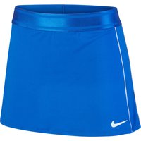Nike Dri-FIT Tennisrock game royal/white/white/white S von Nike