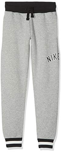 Nike Jungen B AIR Pants, Dk Grey Heather/Black, L von Nike