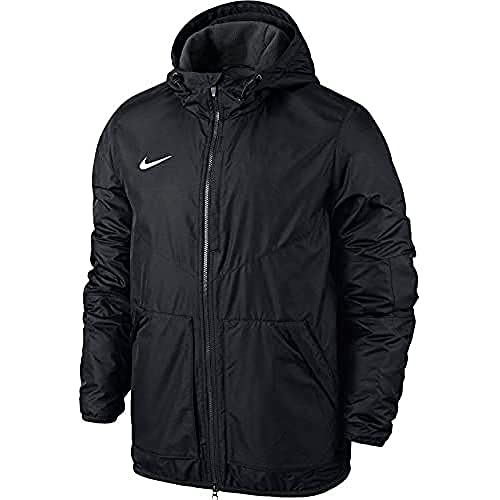 Nike Kinder Jacke Team Fall Jacket, Dark Obsidian/White, S von Nike