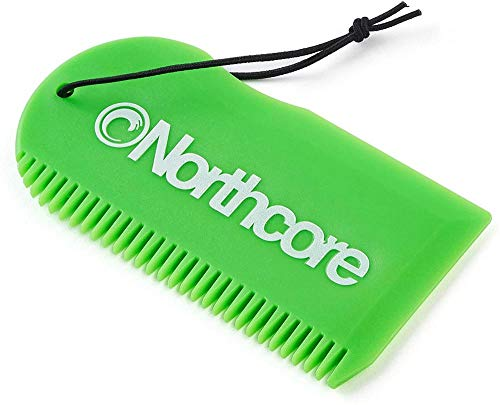 Northcore Surf Wax Comb - Green von Northcore