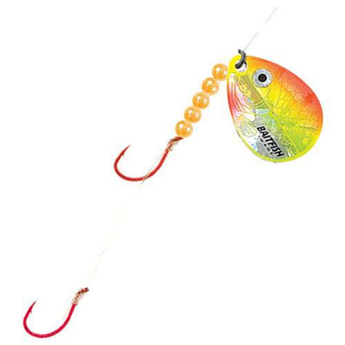 Northland Tackle rch4–3-yo baitfish-Image Spinner Geschirr # 4 # 2 3/CD baitfish-Image Spinner Geschirr # 4, Sunrise von Northland