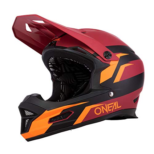 O'NEAL Fury Helmet Stage red/orange L (59/60 cm) von O'NEAL