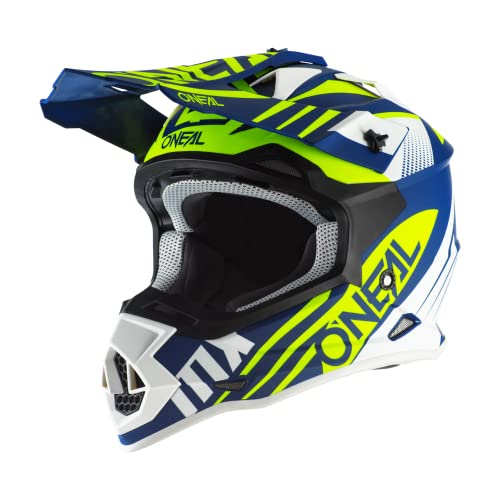 T/ürkis Rot 2XL 0200-4 ONeal Unisex Motocross Fullface 2Series Spyde 2.0