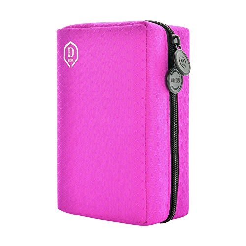 ONE80 Double Darttasche für Darts Dart Wallet Dart Cases (Pink) von ONE80