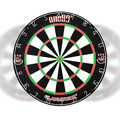 ONE80 Gladiator 3 Plus Sisal Dartscheibe BDO Turnier Dartboard von ONE80