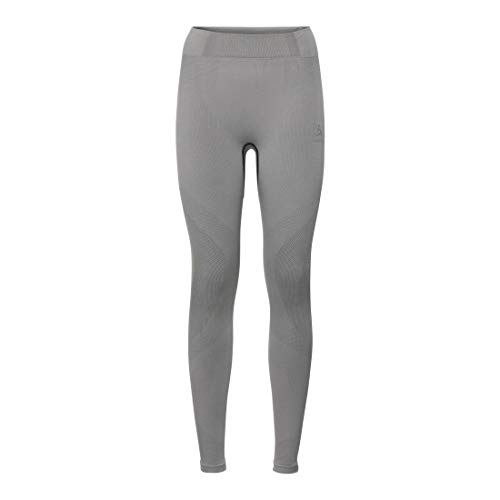 Odlo Damen Unterhose BL Bottom Long Performance WARM, Grey Melange - Black, L, 188051 von Odlo