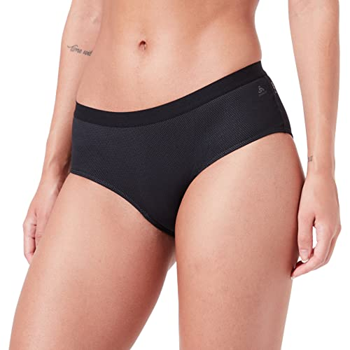 Odlo Damen SUW Bottom Panty Active F-Dry Light Unterhose, Black, S von Odlo