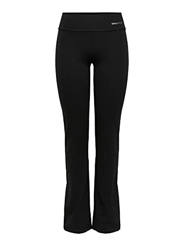 ONLY PLAY Damen Laufhose Fold Jazz Pants Regular Fit, Schwarz, 38/M, 15062199 von Only Play