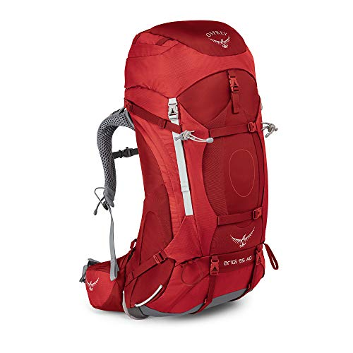 Osprey Damen Ariel AG 55 Backpacking Pack, Picante Red, WM von Osprey