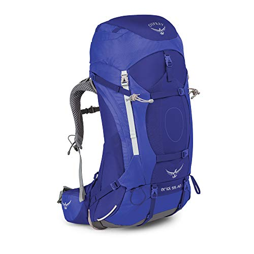 Osprey Damen Ariel AG 55 Backpacking Pack, Tidal Blue, WM von Osprey