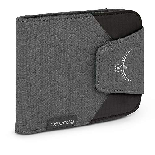 Osprey QuickLock RFID Waist Wallet, Shadow Grey, One sie von Osprey