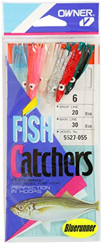 Owner Inhaber 5527–055 Sabiki bluerunner Fisch Catcher, Set 6 Haken von Owner