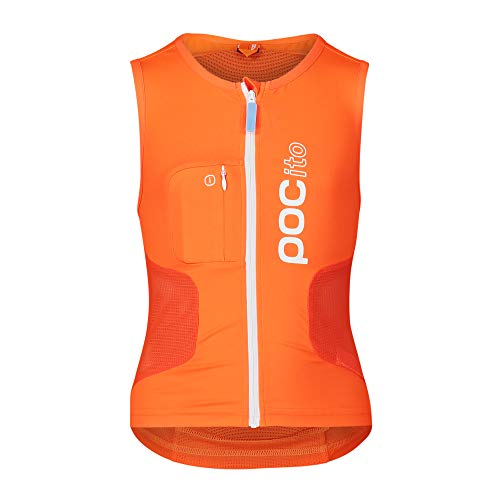 POC POCito VPD Air Vest, Fluorescent Orange,Kinder , Medium von POC
