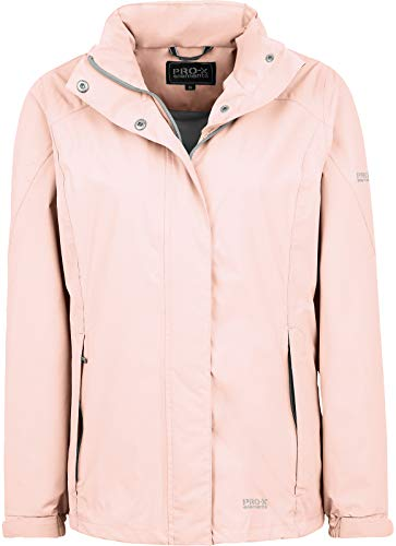 PRO-X elements Damen Carrie Jacke, Silver Pink, 36 von PRO-X elements