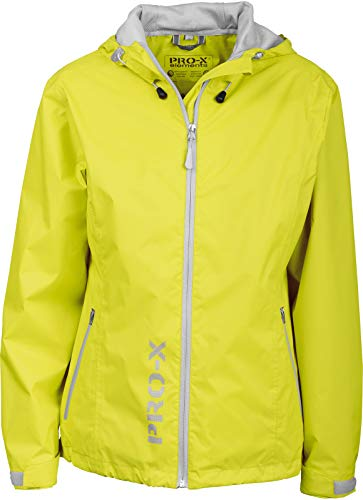 PRO-X elements Damen Jacke Flash, Neon Türkis, 36, 5728 von PRO-X elements