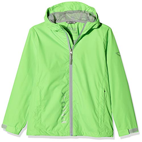PRO-X elements Kinder Jacke Flashy, Neongrün, 140, 9728 von PRO-X elements