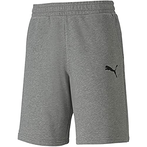 PUMA Herren teamGOAL 23 Casuals Shorts, Medium Gray Heather, 3XL von PUMA
