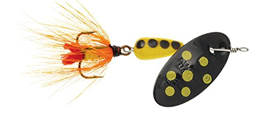 Panther Martin Nature Series Spotted Fly Dressed Fishing Spinner PMSPF_2_by Nature Series Spotted Fly Dressed Fishing Spinner Black/Yellow, Black Yellow von Panther Martin