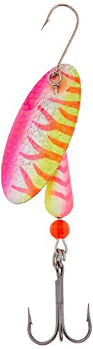 Panther Martin Salmon & Steelhead Hammered Spinning Lure, 1 oz, UV Yellow/Pink von Panther Martin