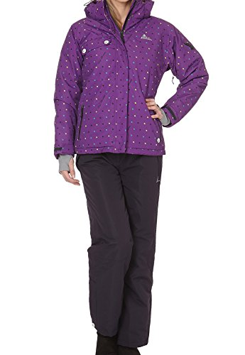 Peak Mountain AVIM Ski Damen L Violet/Carbone von Peak Mountain