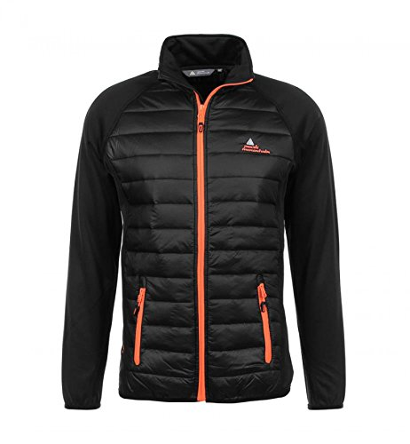 Peak Mountain CALER/WZ Herrenjacke L schwarz / orange von Peak Mountain