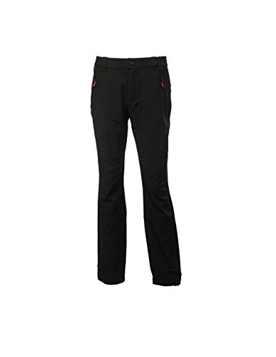 Peak Mountain Damen ANCA/XJ Wanderhose, Schwarz, XL von Peak Mountain