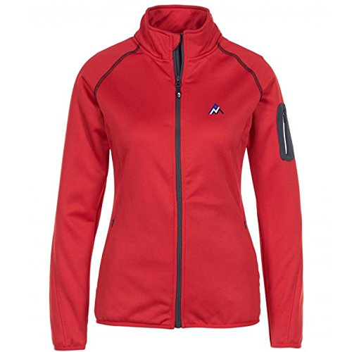 Peak Mountain Amani/Xw Damenjacke M rot von Peak Mountain