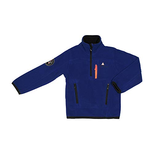 Peak Mountain Ecaidor/3-8/Af Jungen Fleecejacke M blau von Peak Mountain