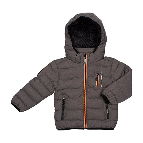 Peak Mountain Ecarf/10-16/Yl Jungen Daunenjacke S Gris Clair chiné von Peak Mountain