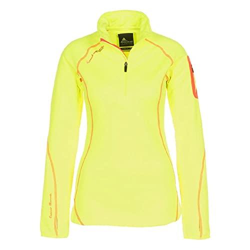 Peak Mountain acerun Sweatshirt 1/2 Zip Damen 3 gelb von Peak Mountain