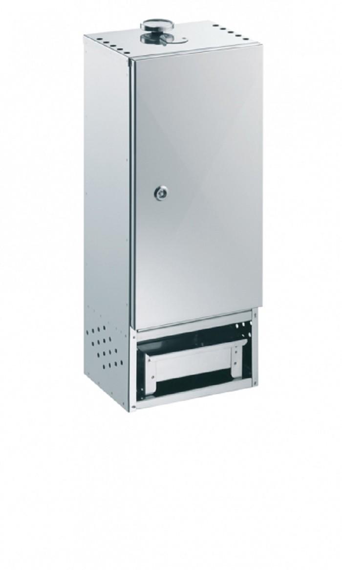 Peetz 520095 Räucherofen Räucherschrank 75x39x21cm-Nirosta Edelstahl mit Tür