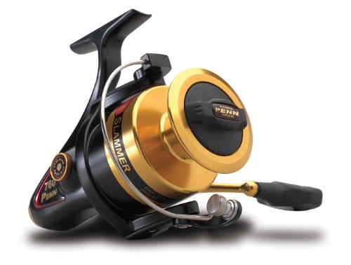 Penn Gold Label Series Slammer Spinnrolle, Gold, 240 -Yard, 10 -Pound Capacity von Penn