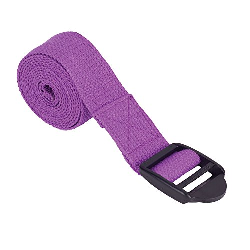 Power Systems Yoga Strap, 8-Foot Length, Purple (83420) von Power Systems